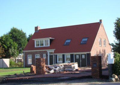 Nieuwbouw woning met berging Aagtekerke
