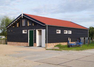 Sanitairgebouw op camping Aagtekerke
