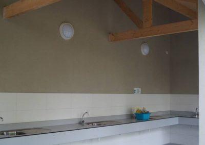Sanitair gebouw op camping Aagtekerke